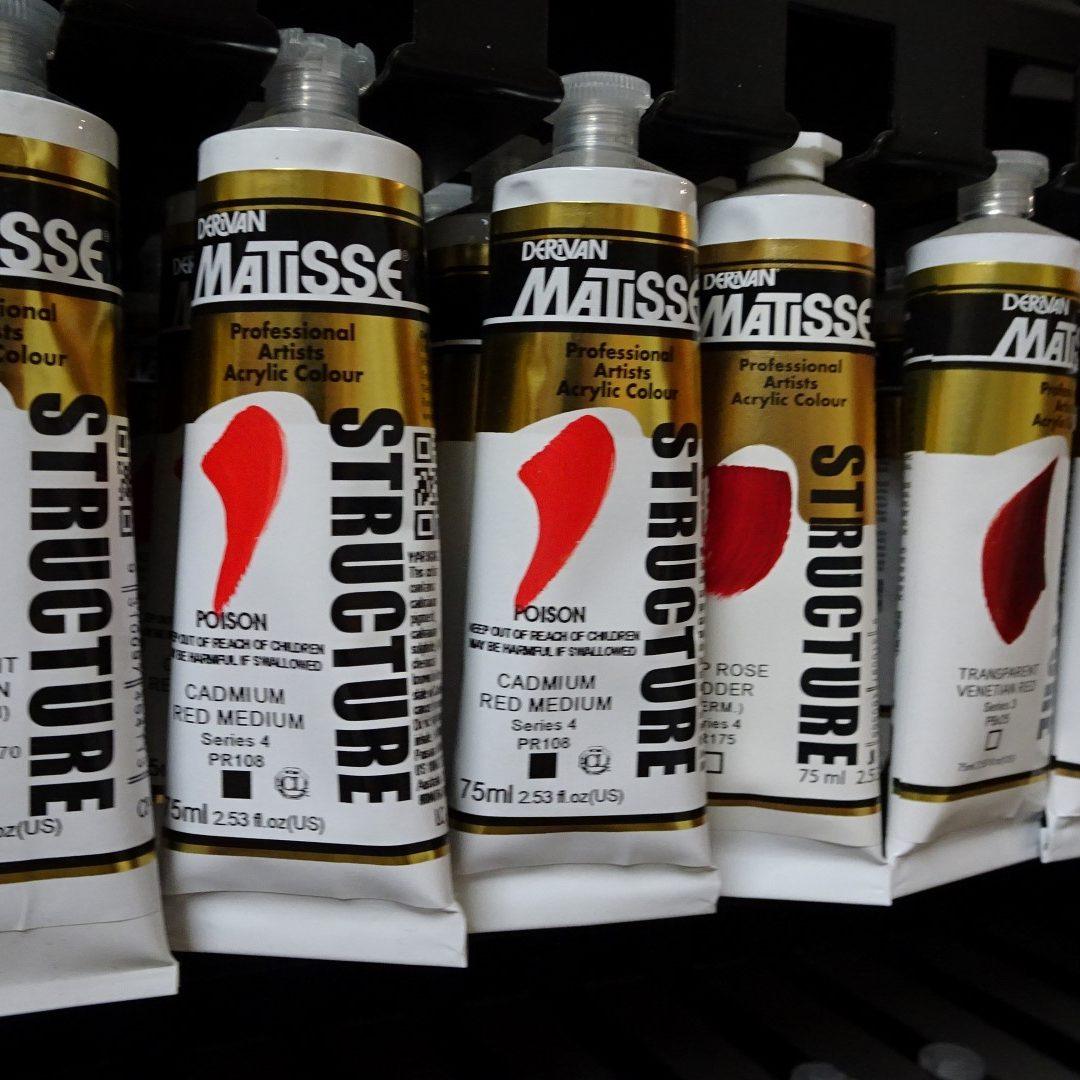 Derivan Matisse Acrylics 2