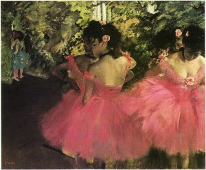 DancersInPinkDegas