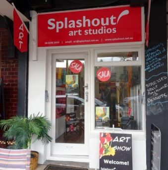 Splashout Art Gallery, Brighton SA