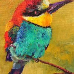 'Colourful' Artist:  Kathy Doley $120