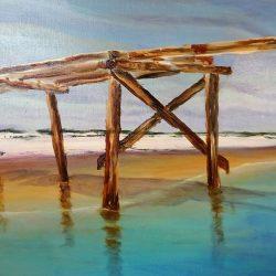 'Yesterday 1' Artist:  Ann van der Zwaag $260
