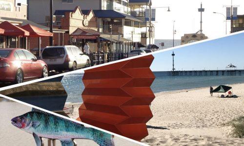 Schools Walk Brighton Jetty Sculptures