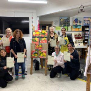 Splashout Art Studios beginners painting